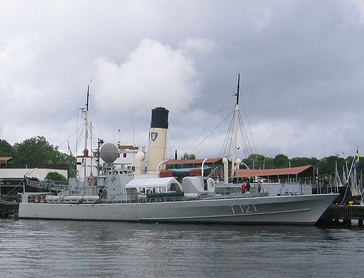 Swedish museum ship HMS Spica (T121)