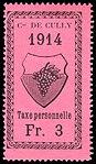 Switzerland Cully 1914 revenue 3Fr - 16.jpg