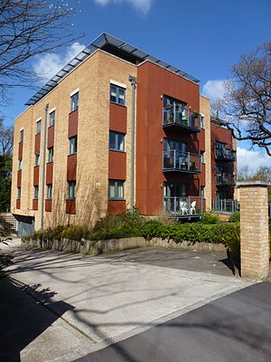 Sydenham - Apartment building on Sydenham Hill