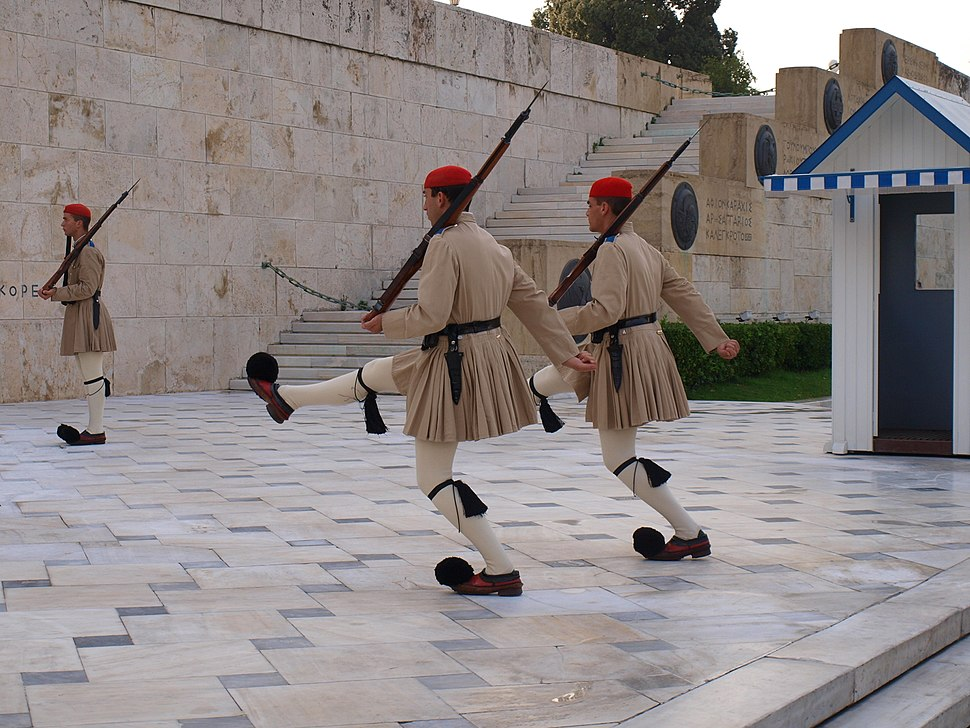Syntagma - Evzones at the Tomb of the Unknown Soldier