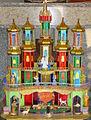 Szopka krakowska autorstwa Andrzej Morańskiego. Kamienna Góra, kościół pw. Najświętszego Serca Pana Jezusa.JPG