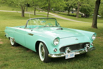 Ford Thunderbird - 1955 Ford Thunderbird