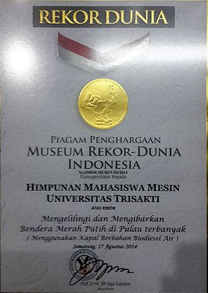 Trisakti University - Image: TMED MURI records