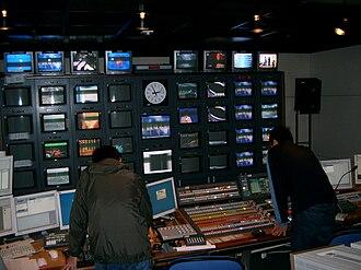TVB News - TVB News Control Room