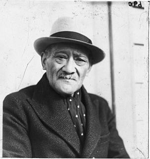 T. W. Ratana Maori prophet, Ratana religion founder