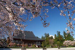 Taiseki-ji - Taisekiji-Kyakuden-sakura-Fuji