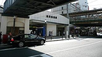 Takadanobaba Station - Waseda entrance, August 2008