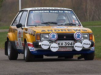Chrysler Sunbeam - Sunbeam Lotus at the Race Retro 2008