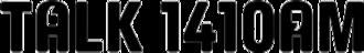 "CFTE - CFUN's late-2000s logo as ""Talk 1410"""