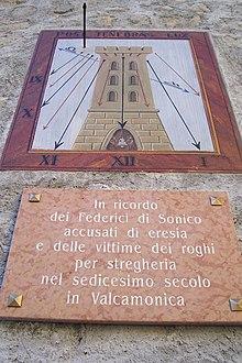 Risultati immagini per roghi per stregoneria in Valle Camonica, avvenuti nel 1518