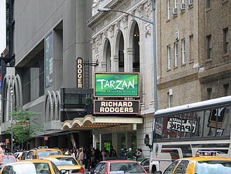 Richard Rodgers Theatre - Tarzan at the Richard Rodgers Theatre (2006)