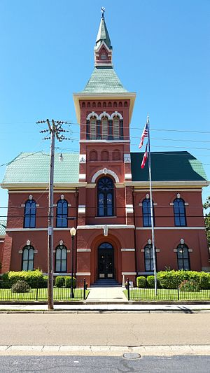 Tate County, Mississippi - Tate County Courthouse, 201 S. Ward St., Senatobia