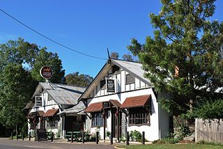 Tatong Town in Victoria, Australia