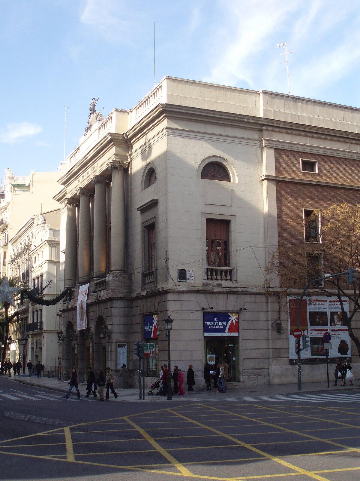 Teatro principal valencia wikipedia la enciclopedia libre for Teatro principal valencia