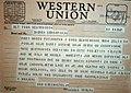 Telegram Nikola Tesla Mestrovic 01081.JPG