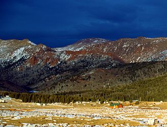 Teller County, Colorado - Image: Teller County Colorado Mountains 18