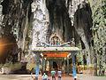Temple Batu Caves located in Gombak district, north of Kuala Lumpur.jpg