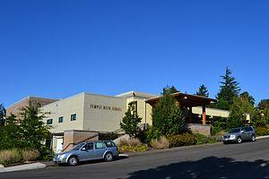 Temple Beth Israel (Eugene, Oregon) - Image: Temple Beth Israel (Eugene, Oregon) Southwest