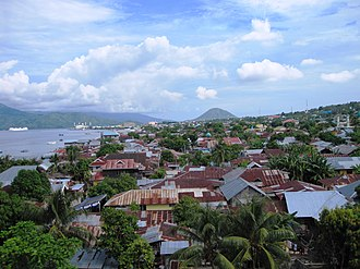 Ternate - Skyline of Ternate