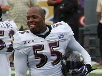 2003 NFL Draft - Terrell Suggs was drafted by the Baltimore Ravens and went on to win the 2011 AP NFL Defensive Player of the Year Award and Super Bowl XLVII.