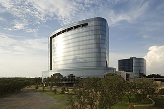 Andeavor - Tesoro's corporate HQ, completed in 2009, at San Antonio, TX.