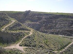 Teton Dam - Teton Dam ruins in 2004