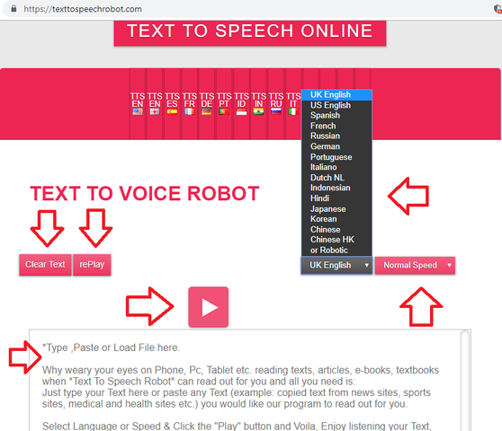 Learn These Text To Speech Online Robot Indonesia {Swypeout}