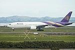 Thai Airways Boeing 777-2D7(ER) HS-TJR TG492 AKL-BKK dep AKL (20781272244).jpg