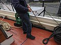 Thames Quay adjusting the topsail- Kitty 7027.JPG