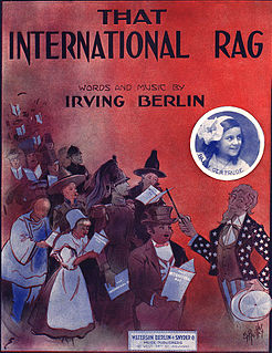 That International Rag song performed by Belle Baker