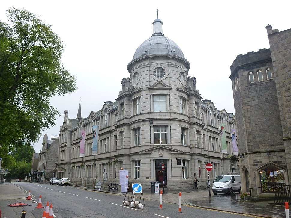 The Academy, Belmont St and Schoolhill, Aberdeen