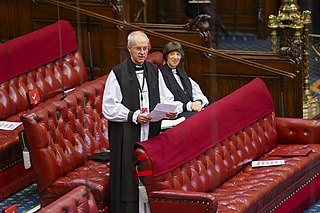 Lords Spiritual The 26 bishops of the established Church of England who serve in the House of Lords