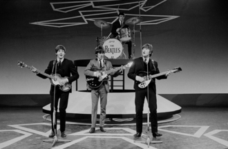 Jimmie Nicol - McCartney, Harrison, Lennon, and Nicol in the Netherlands on 5 June 1964
