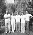 The CERN Coureir editorial team in August 1979.jpg