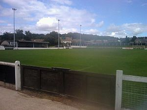 Cinderford Town A.F.C. - The Causeway Ground