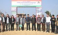 The Deputy Commissioner, Serchhip district, Dr. Lalrozama along with the media persons and officials, at the Public Information Campaign, organised by the (PIB), Aizawl, at Kawlailung, in Serchhip district.jpg