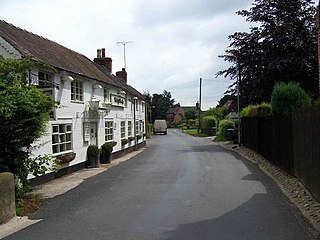 Marchington village in the United Kingdom