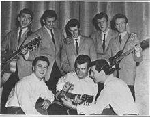 The Echoes tour with Conway Twiity, Freddie Cannon & Johnny Preston 1960.jpg