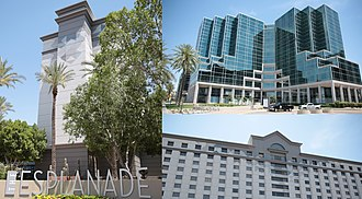Fife Symington - The Esplanade on Camelback and 24th Street in Phoenix was one of The Symington Company's development projects.