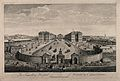 The Foundling Hospital, Holborn, London; a bird's-eye view o Wellcome V0013448.jpg
