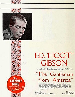 The Gentleman from America - Ad for the film