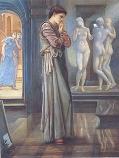 second series of paintings on the theme of Pygmalion and Galatea by Edward Burne-Jones