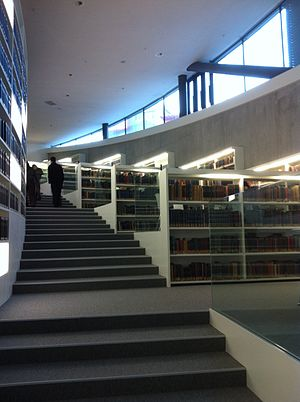 Maison de la paix - The Davis Library