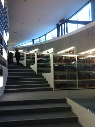 Graduate Institute of International and Development Studies - The Davis Library of the Maison de la paix