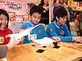 The Million Primary School's braintrusts in a book exhibition - 1.JPG