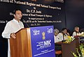 """The Minister of State for Road Transport and Highways, Shri Jitin Prasada addressing at the inauguration of the """"National Register & National Transport Portal"""", in New Delhi on July 20, 2011.jpg"""