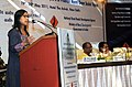 The Minister of State for Rural Development, Ms. Agatha Sangma addressing at the launch of the workshop of World Bank Assisted Rural Roads Project-II of Pradhan Mantri Gram Sadak Yojana (PMGSY), in New Delhi on May 19, 2011.jpg