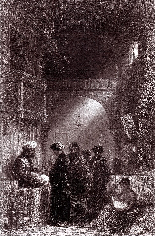 The Opium Seller (W. Müller)