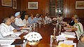 The Prime Minister, Dr. Manmohan Singh chairing a review meeting for conservation and development of the Yamuna River, in New Delhi on August 6, 2007.jpg