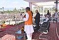 The Prime Minister, Shri Narendra Modi attends the oath taking ceremony of Shri Trivendra Singh Rawat as Uttarakhand Chief Minster, in Dehradun, Uttarakhand (1).jpg